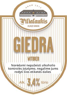 pilialaukis giedra kvietinis witbier craft alus