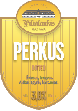 pilialaukis perkus english bitter craft alus