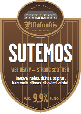 pilialaukio sutemos alus wee heavy strong scottish craft